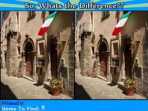 Bild zu Denken-Spiel Whats the Difference