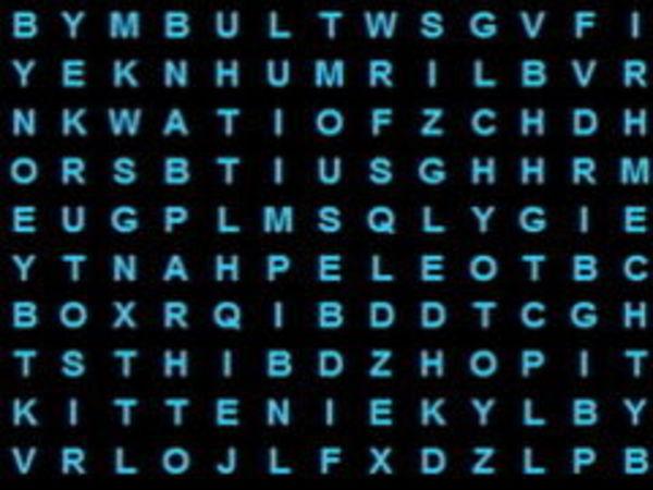 Bild zu Denken-Spiel Word Search