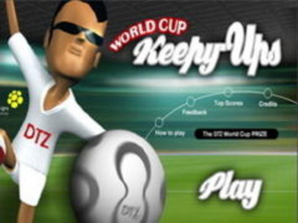 Bild zu Geschick-Spiel Ball Hoch WM