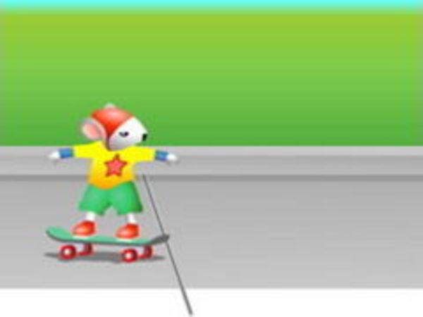 Bild zu Geschick-Spiel Extrem Skateboarden