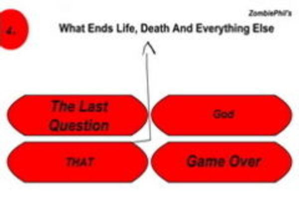 Bild zu Denken-Spiel Zombie Phils Quiz