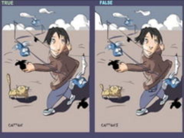 Bild zu Denken-Spiel Wo sind die Fehler
