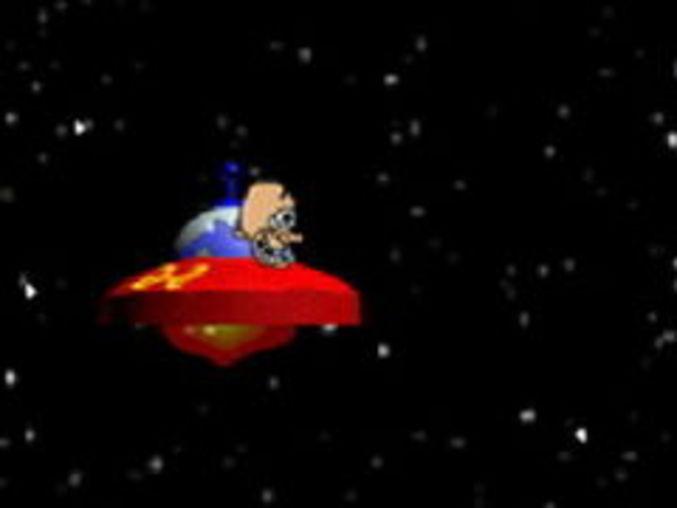Verrücktes Ufo