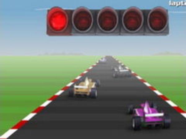 Bild zu Rennen-Spiel Formel Splash