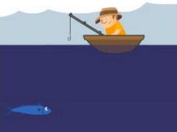 Bild zu Geschick-Spiel Bob der Angler