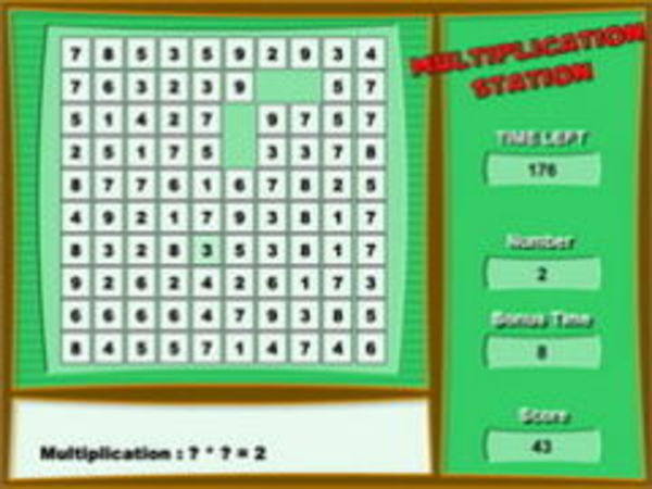 Bild zu Denken-Spiel Multiplikation