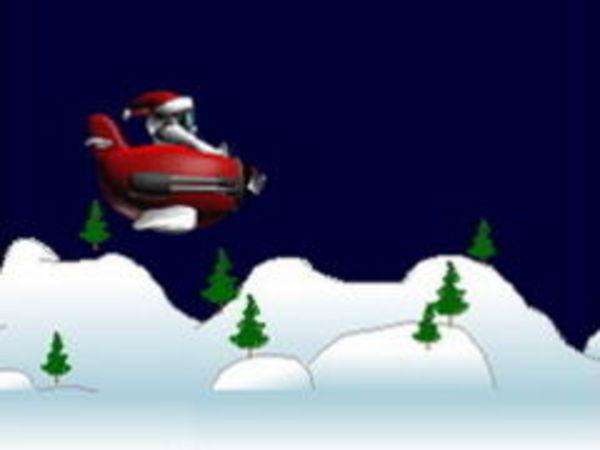 Bild zu Rennen-Spiel Santa