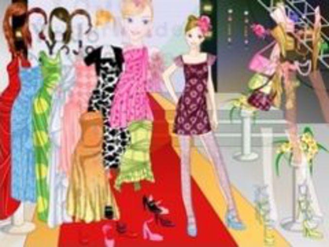 Gown Catwalk Dress Up 2