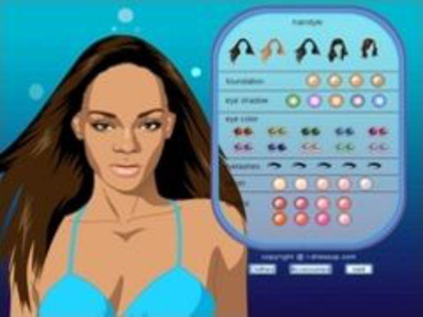 Bild zu Mädchen-Spiel Rihanna