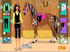 Lucky Ranch dress up spielen