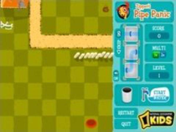 Bild zu Denken-Spiel Zipper`s Pipe Panic