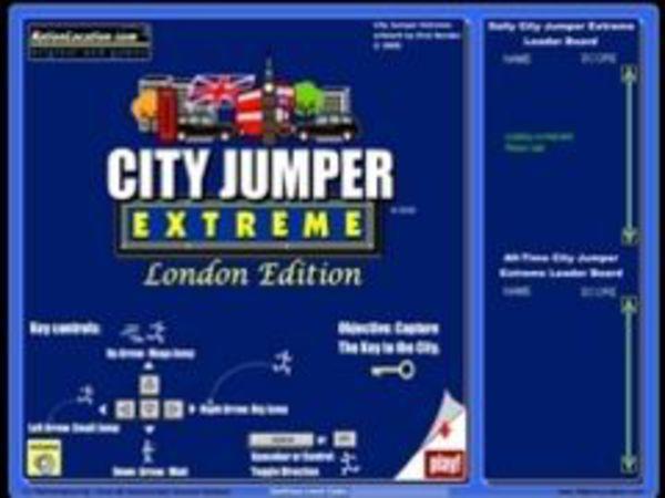 Bild zu Geschick-Spiel City Jumper Extrem