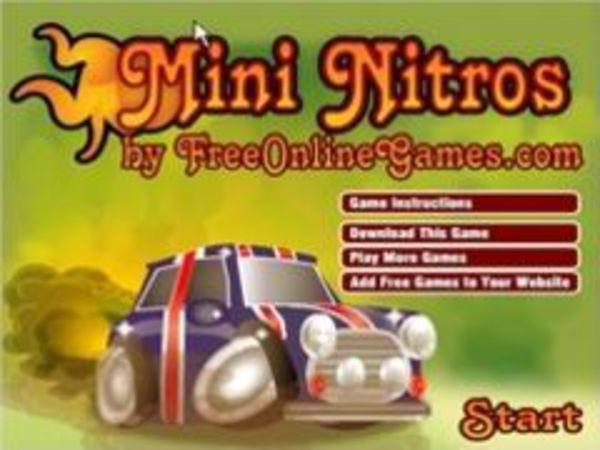 Bild zu Rennen-Spiel Mini Nitros