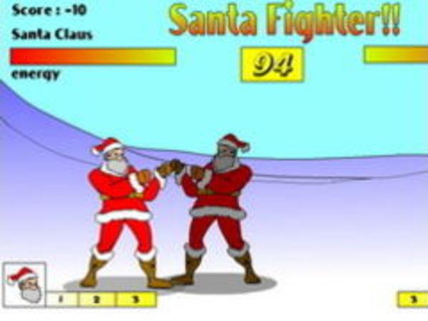 Bild zu Action-Spiel Santa Fighter