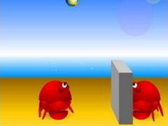 Crab-Ball spielen