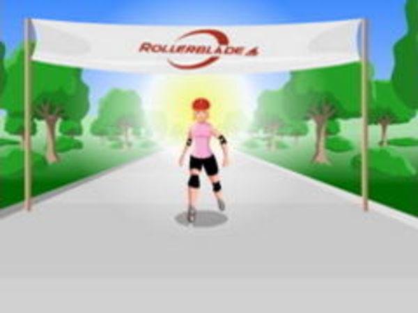 Bild zu Geschick-Spiel Rollerblader