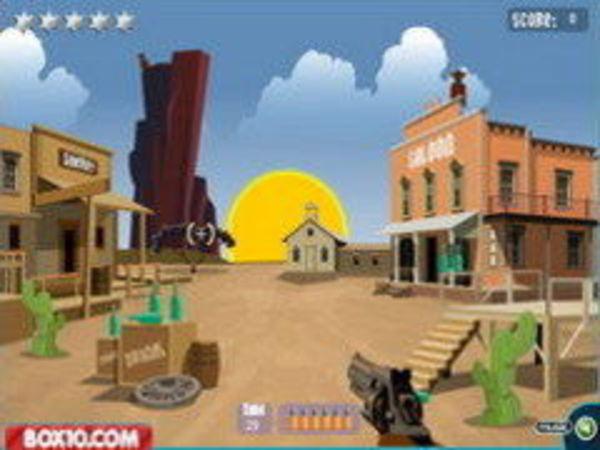 Bild zu Geschick-Spiel Cowboy Schule