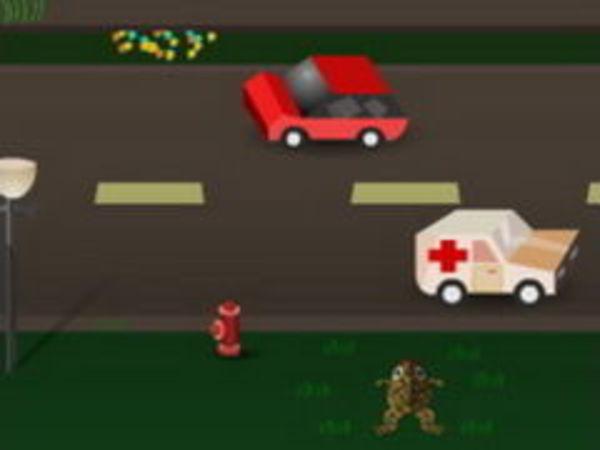 Bild zu Geschick-Spiel Frogger City Adventure