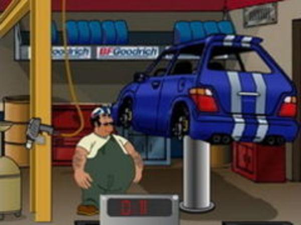 Bild zu Abenteuer-Spiel Reifenwechsel