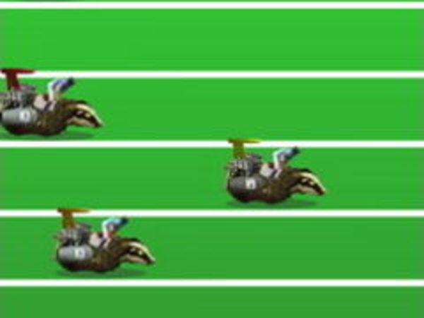 Bild zu Top-Spiel Atomic Badger Racing