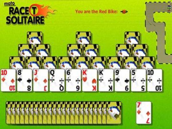 Bild zu Karten & Brett-Spiel Race T Solitaire