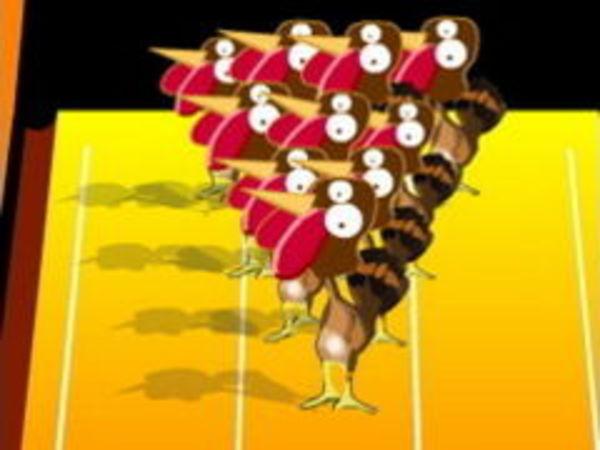 Bild zu Geschick-Spiel Turkey Bowling
