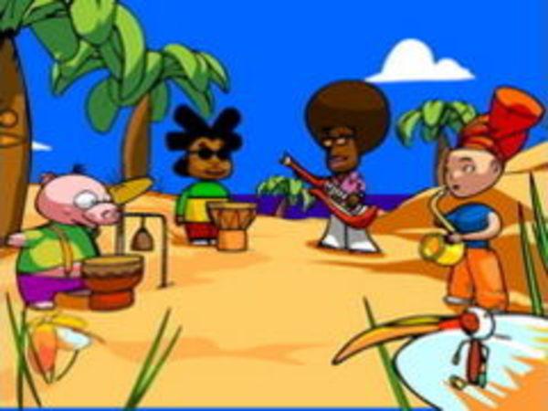 Bild zu Geschick-Spiel Band Jammin