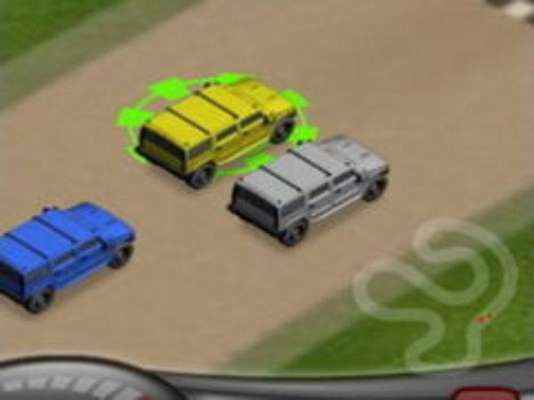 Bild zu Rennen-Spiel Hummer Rally