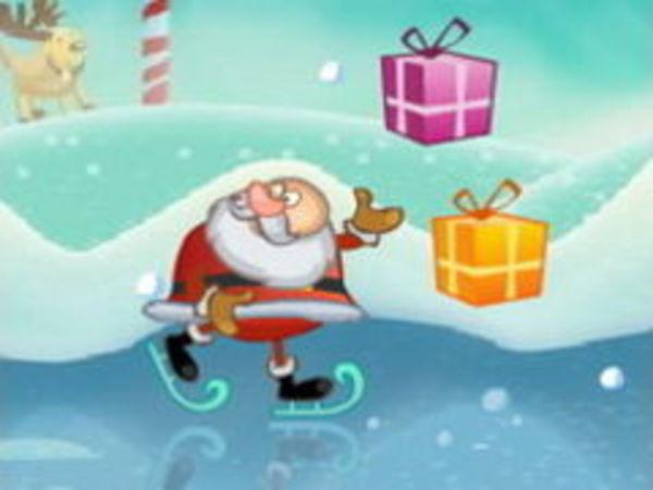Bild zu Geschick-Spiel Santas Giftjump