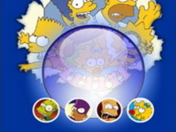 Bild zu Denken-Spiel Simpsons Magic Ball