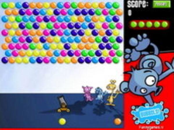 Bild zu Geschick-Spiel Bubbels