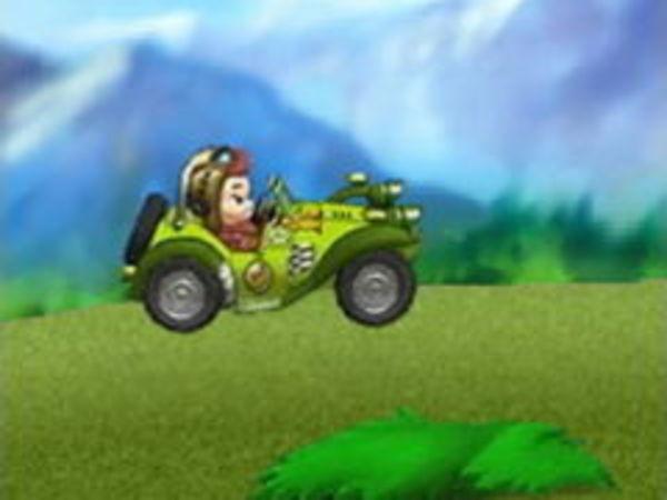 Bild zu Rennen-Spiel Monkey Kart