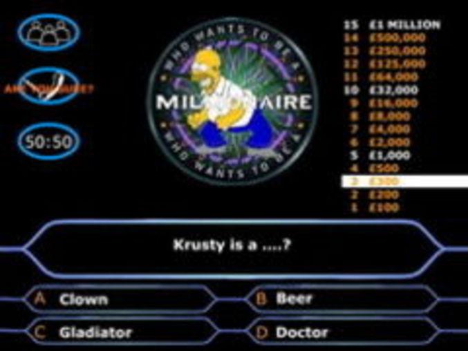 Simpsons Millionaire