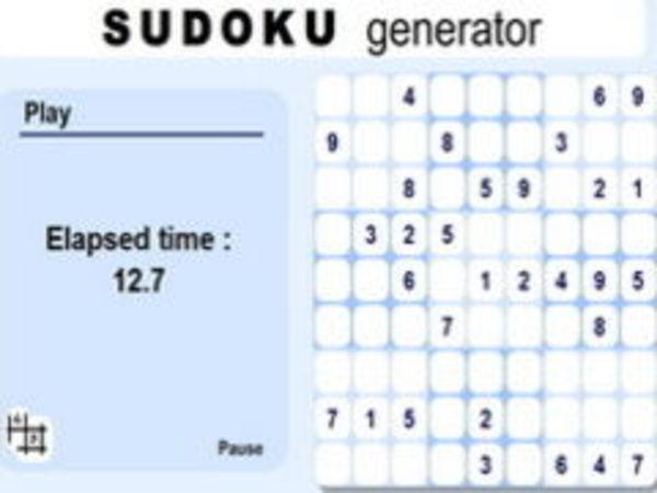 Bild zu Denken-Spiel Sudoku Generator
