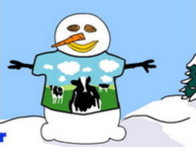 Virtual Snowmen