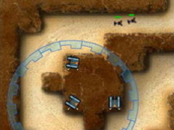 Bild zu Strategie-Spiel Canyon Defense