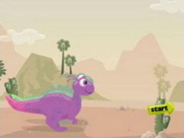 Bild zu Geschick-Spiel Dino Faster
