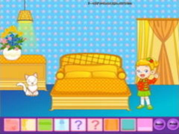 Bild zu Mädchen-Spiel Dress the Room