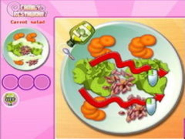 Bild zu Mädchen-Spiel Family Restaurant
