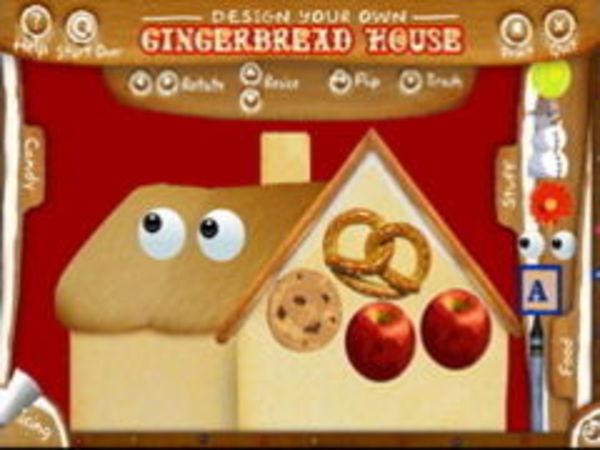 Bild zu Mädchen-Spiel Lebkuchenhaus
