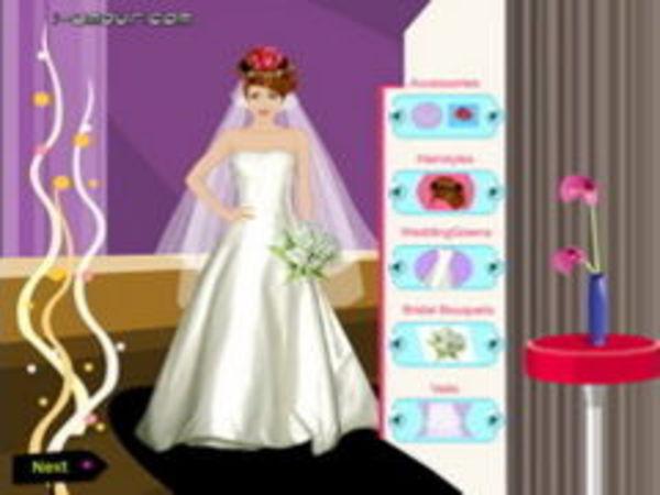 Bild zu Mädchen-Spiel Wedding Dressup