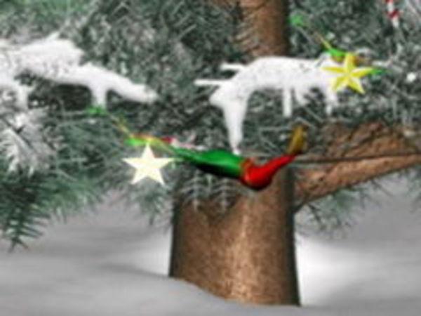 Bild zu Geschick-Spiel Merlin Christmas 2