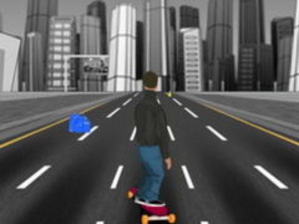 Bild zu Geschick-Spiel On Street Boarding