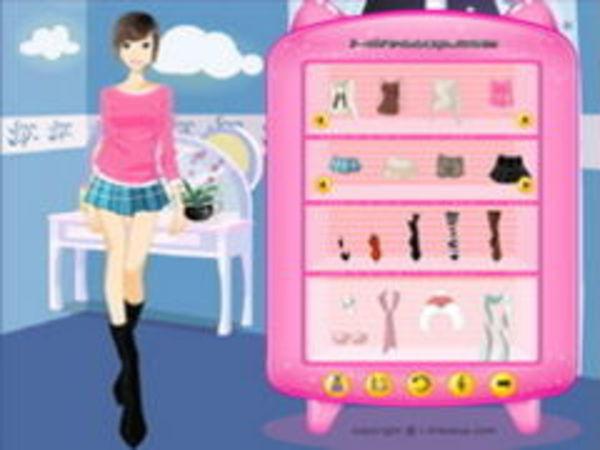 Bild zu Mädchen-Spiel Paulas Dressup