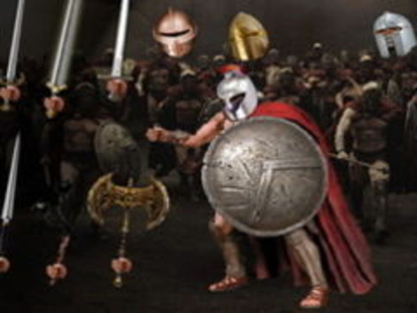 Bild zu Mädchen-Spiel Pimp my Spartan