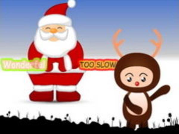 Bild zu Geschick-Spiel Santa Shake with me