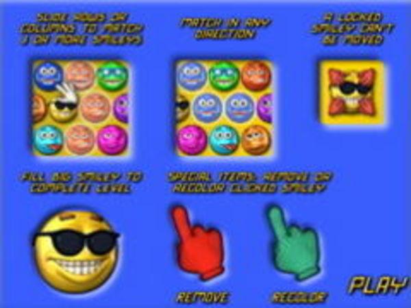 Bild zu Denken-Spiel Smileypuzzle