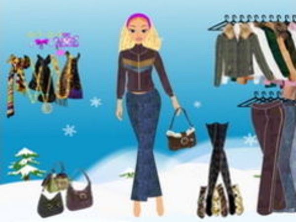 Bild zu Mädchen-Spiel Winter Dressup 2