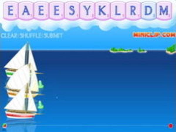 Bild zu Denken-Spiel Word Sailing
