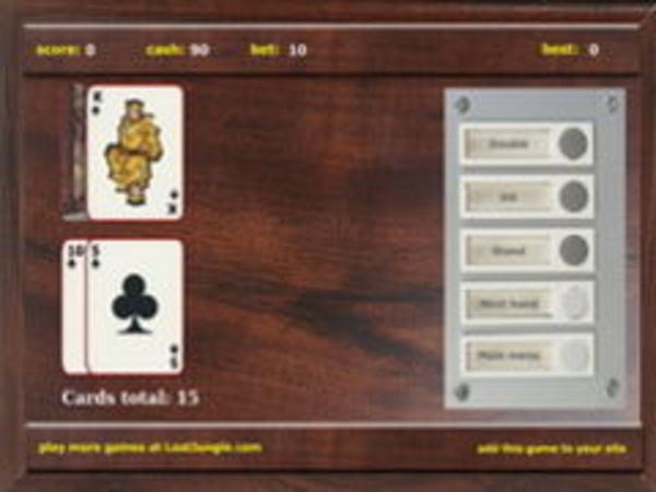 Bild zu Karten & Brett-Spiel Black Jack 5